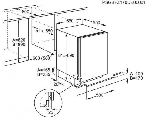 Встраиваемая Морозильная камера Electrolux RYB 2 AF 82 S