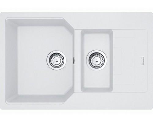 Кухонная мойка Franke UBG 651-78 белый стоп (114.0595.470)