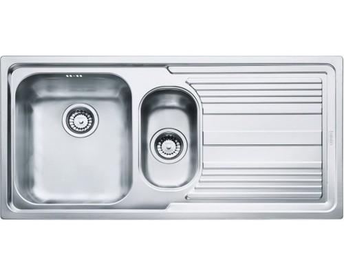 """Кухонная мойка Franke LLX 651 3.5"""" лев короб вент (101.0085.810)"""