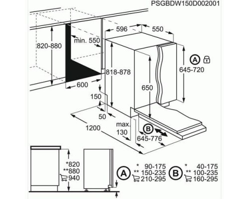 Встраиваемая посудомоечная машина Electrolux EMS 47320 L