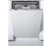 Встраиваемая посудомойка Whirlpool WSIO 3O23 PFE X