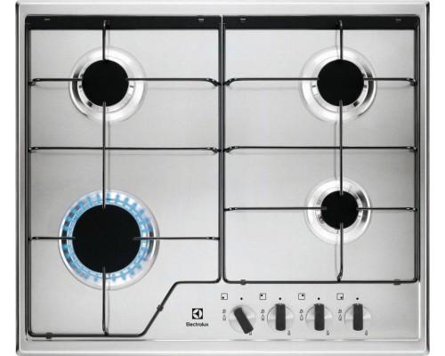 Встраиваемая газовая варочная поверхность Electrolux GPE 262 MX
