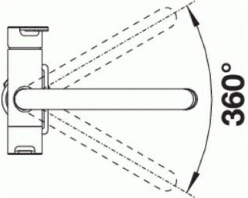 Кухонный смеситель Blanco Trima UltraResist нержавеющая сталь (525820)
