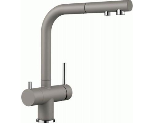 Кухонный Смеситель Blanco Fontas-S II серый беж HD (525206)