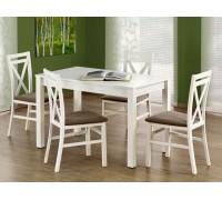 MAURYCY стол раскладной 120/160 белый