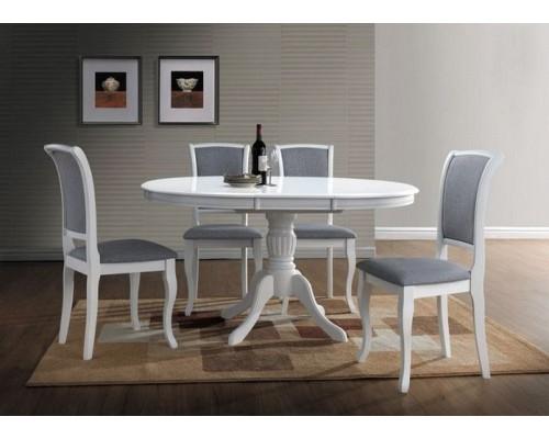 Кухонный Стол Olivia белый раскладной белый