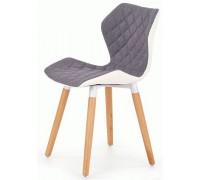 K277 стул Halmar серый-белый