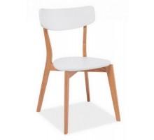 MOSSO стул дуб/белый